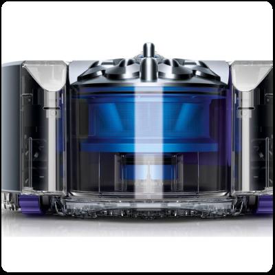 recipient colectare aspirator robot